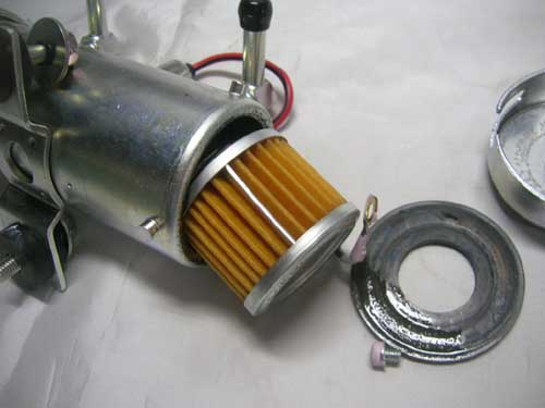 nismo electric fuel pump replacement filter for datsun. Black Bedroom Furniture Sets. Home Design Ideas